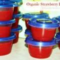 Organic Strawberry Freezer Jam Recipe