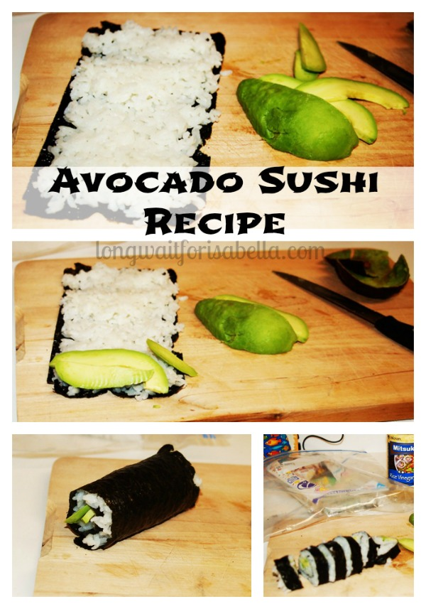 avocado sushi recipe