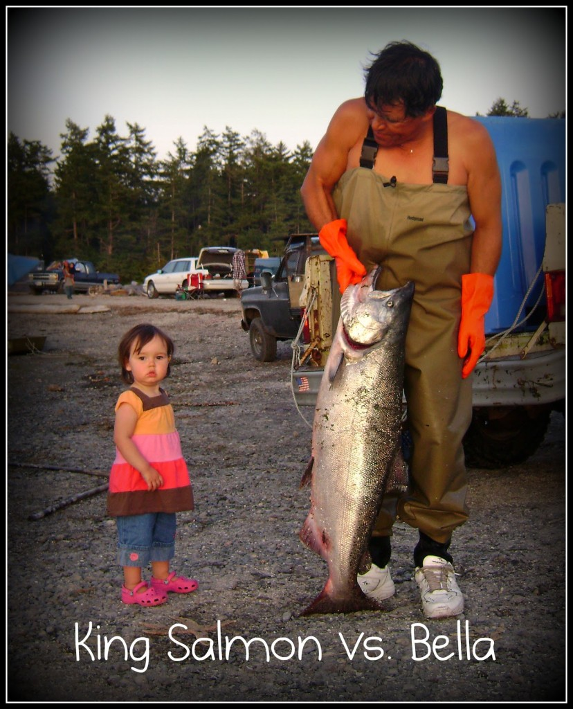 King Salmon and a Toddler