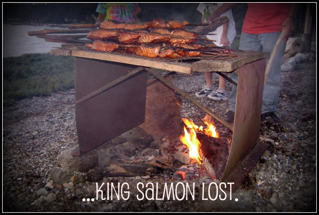 bbq king salmon fresh