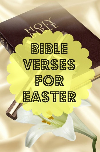 bible verses for easter