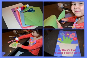 Mother's Day Preschool Card