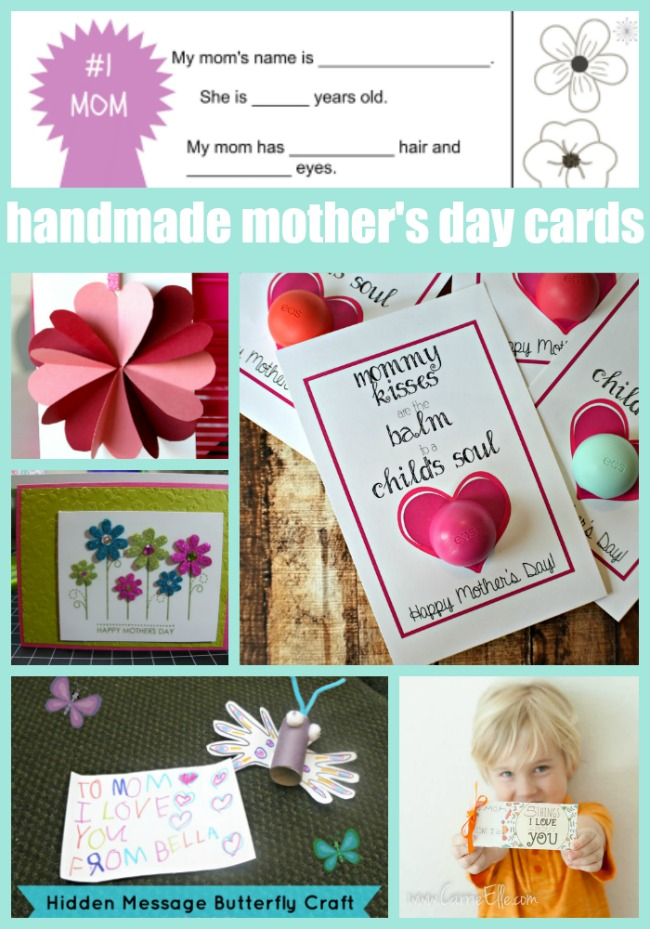 Handmade Mothers Day Cards 2