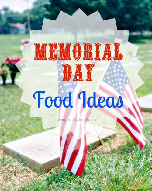 memorial day food
