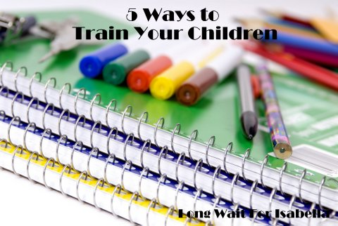 5 ways to train children