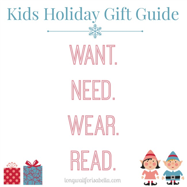 Kids Holiday Gift Guide 2015