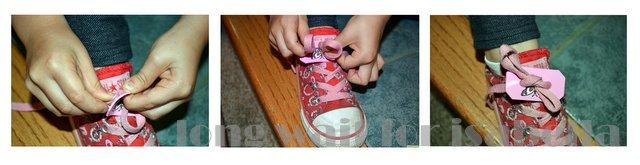 shoe tying aid
