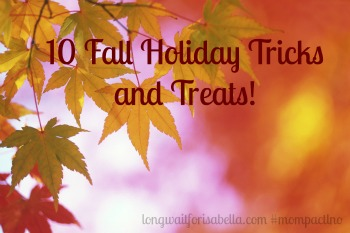 fall holiday tricks and treats
