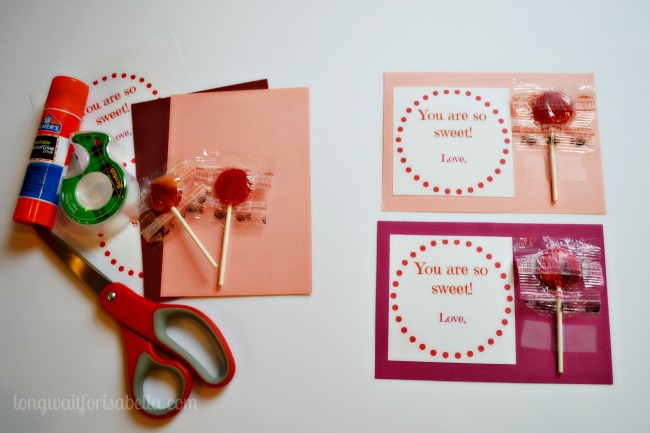 Easy Lollipop Card