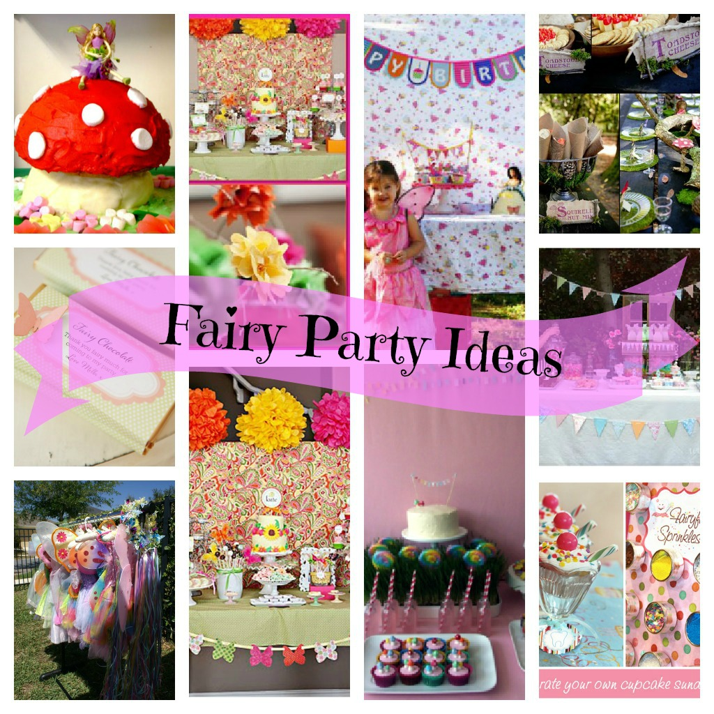 Fairy Party Collage