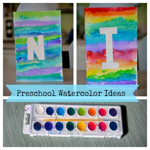 Watercolor ideas for kids for Easy watercolor ideas for kids