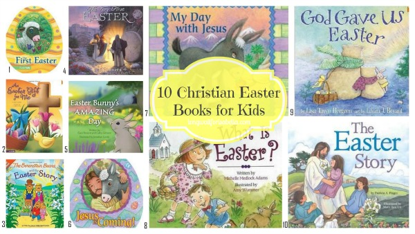 christian easter books