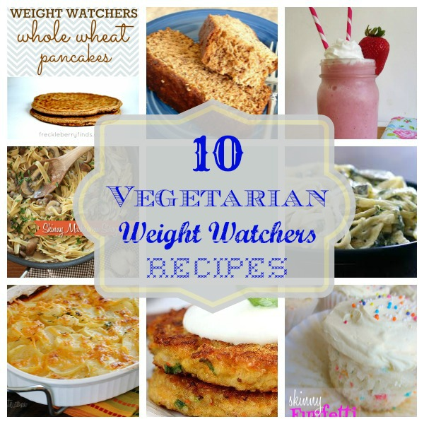 10 Vegetarian Weight Watchers Recipes - Long Wait For Isabella