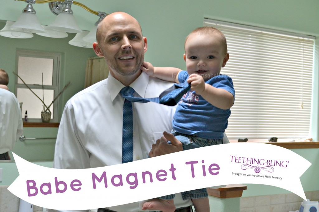 For Father's Day: Babe Magnet Tie