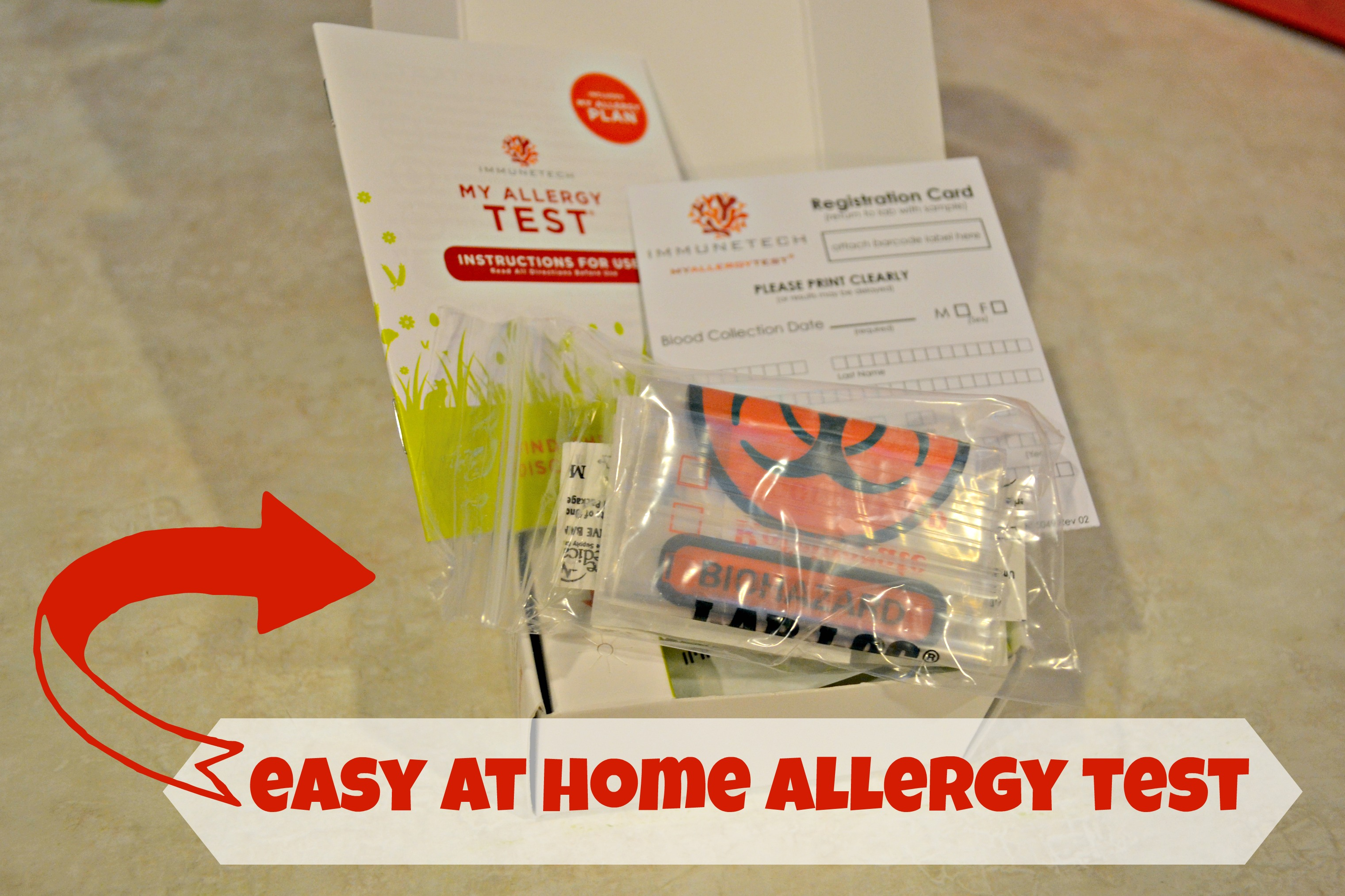 At Home Allergy Test with Giveaway