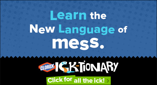 What is Foop? Find it in the Clorox Ick-tionary