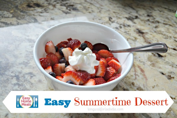 easy summertime dessert