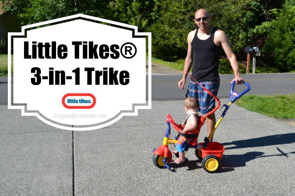Baby's First Bike: Little Tikes 3-in-1 Trike