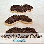 Mustache Sugar Cookies!
