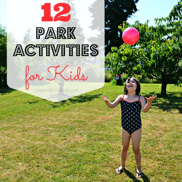 park activities for kids