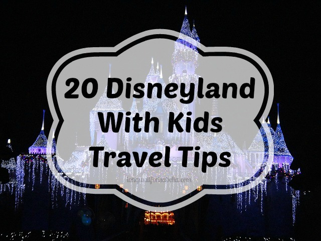 What to Know About Travel to Disneyland With Kids