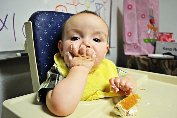 self feeding baby