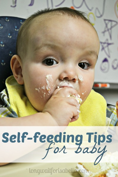 self feeding tips