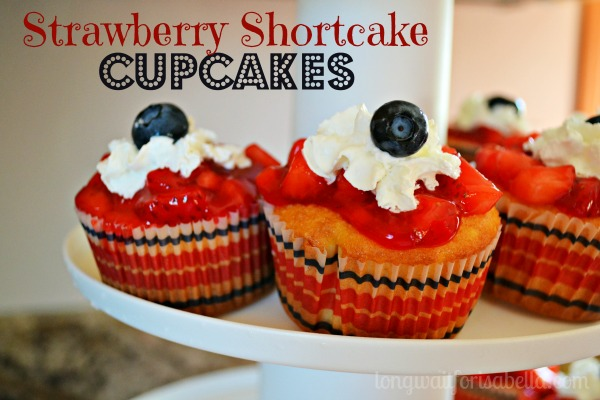 strawberry shortcake cupcakes 2