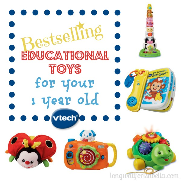 7 Educational Toys for Your 1 Year Old