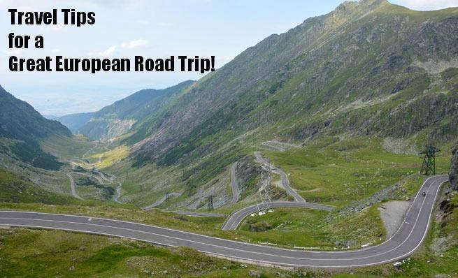 european road trip travel tips
