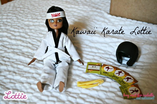 karate lottie doll