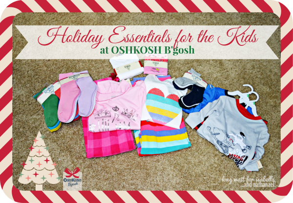 Holiday Shopping with OshKosh