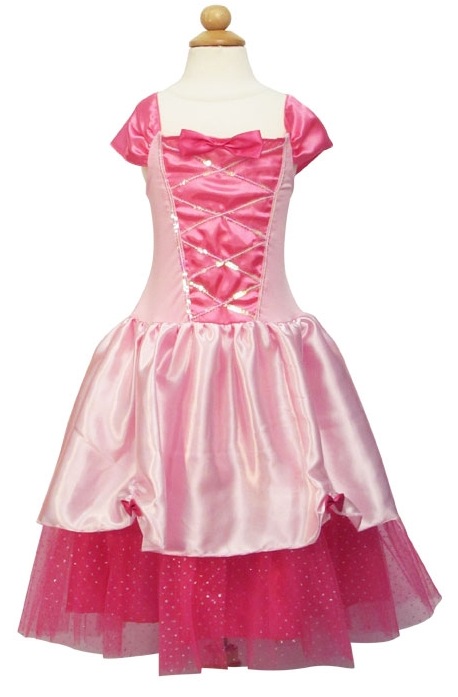 Almar Princess Satin and Tulle Dress