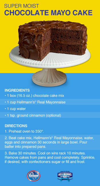Chocolate Mayonnaise Cake From A Box