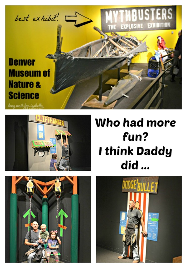 mythbusters exhibit collage