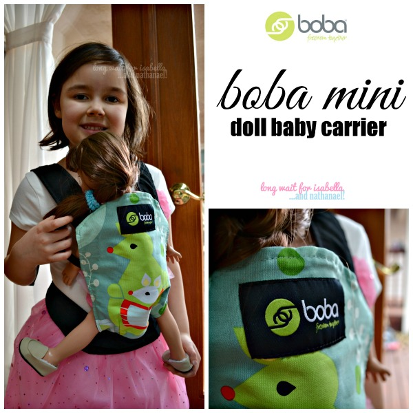 Boba Mini Doll Baby Carrier
