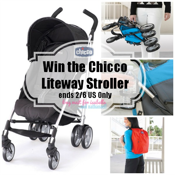 Chicco Liteway Stroller Giveaway and Review - The ...