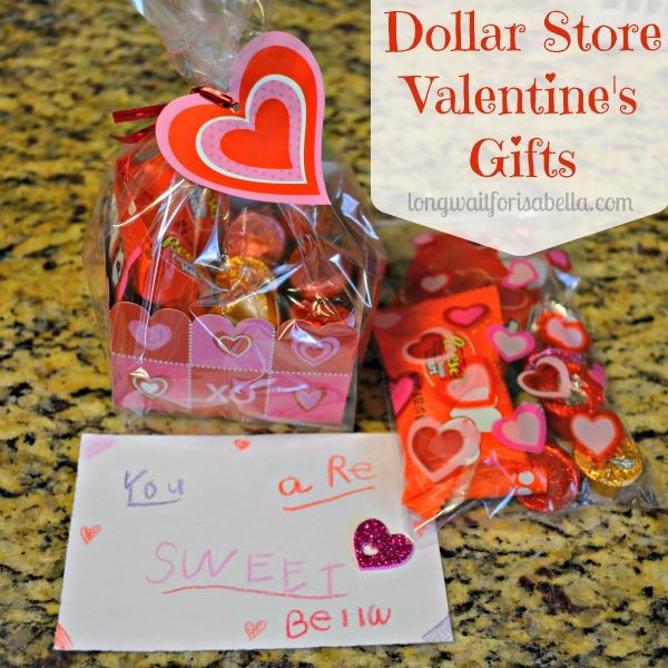 Dollar Store Valentine Gifts