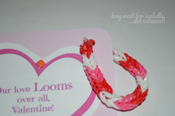 loom valentines bracelet