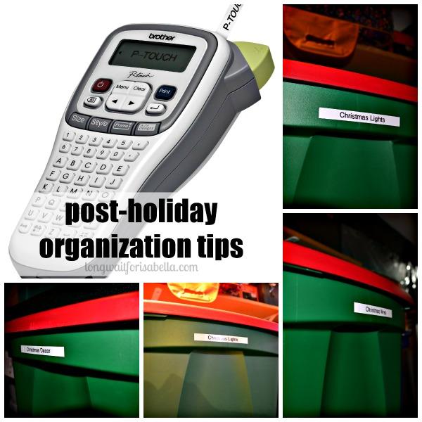 post holiday organization tips