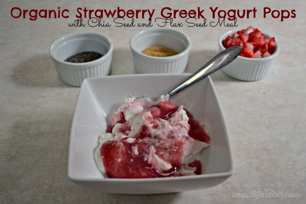 Greek Yogurt Pops Recipe #naturalprobiotic