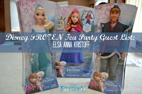 Disney FROZEN Tea Party