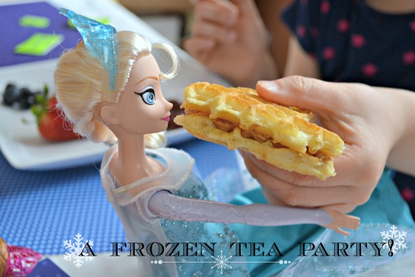 Disney's FROZEN Tea Party #FROZENFun