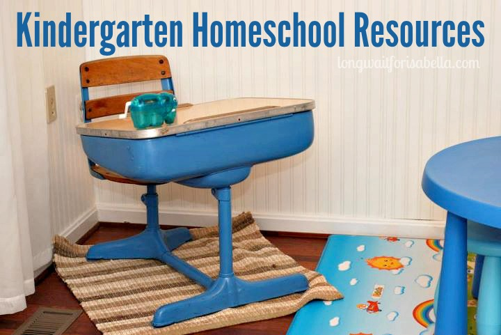 Kindergarten Homeschool Resources