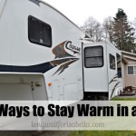 10 Ways to Stay Warm in the RV