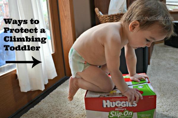 Ways to Protect a Climbing Toddler