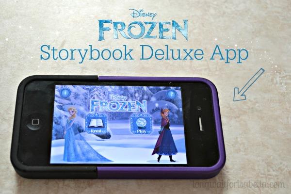 disney frozen book app