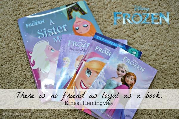 disney frozen books 2