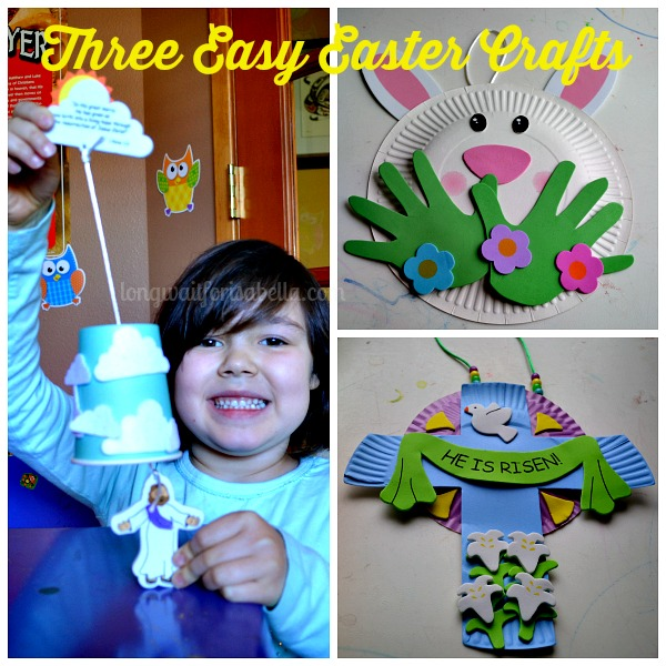 Three Easy Easter Crafts For Kids Long Wait For Isabella