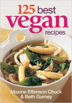 125 Best Vegan Recipes Book Giveaway